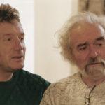 """1994. Gilles Clément et François Béalu à la galerie du Dourven à Locquémeau, pour l'exposition """"Eloge de la Friche""""."""